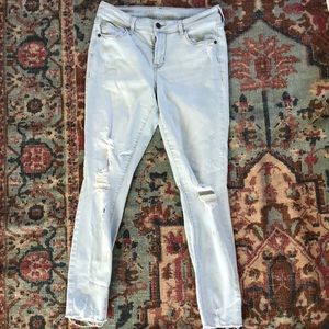 Old Navy Rockstar light jeans